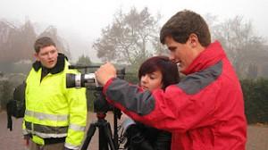 Ein Schüler filmt