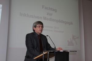 Ministerialdirigent Manfred Walhorn