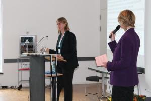 Susanne Böhmig, Leiterin barrierefrei kommunizieren!, beim Impulsreferat