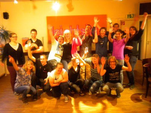 Ehrenamtler Team des Cafe Leichtsinn