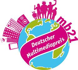 Logo des Deutschen Multimedia-Preises