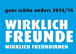 Logo des Kurzfilmwettbewerbs ganz schön anders 2014/2015