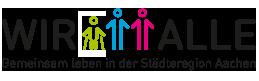 Logo des Inklusionsprojekts WIR ALLE