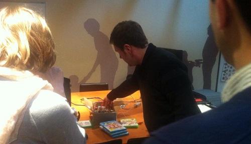 Spiele testen auf dem Spiele-Workshop