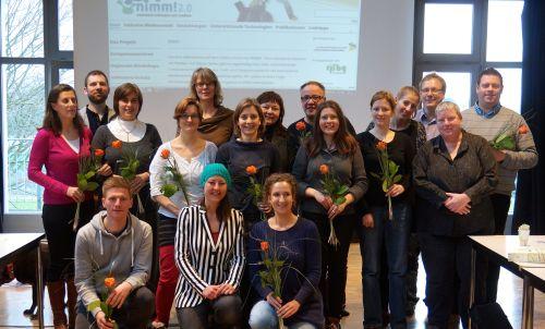 Absolventen der Weiterbildung Inklusive Medienpädagogik 2014