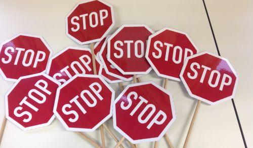 Stoppschilder