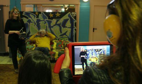 Filmdreh mit Behinderung