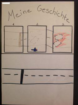 Papier Storyboard