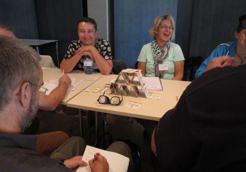 Teilnehmende der Weiterbildung Inklusive Medienpädagogik