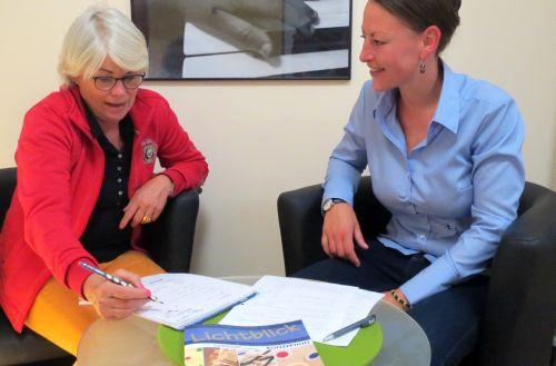 Planungsgespräche in der KITA Lichtblick