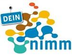 Dein Nimm Logo - verschiedenfarbige Flecken vermengen miteinander