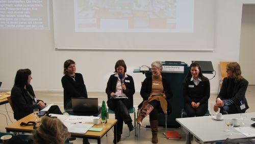 Dr. Christine Ketzer, Carola Werning, Prof. Isabel Zorn, Marlies Wehner, Rose Jokic, Susanne Böhmig