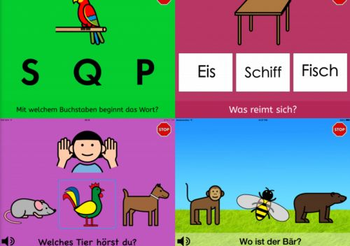 Screenshots: Beispiele für Quiz-Maker-Quiz