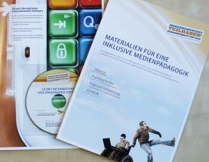 Arbeitsheft medienkompetent teilhaben Cover
