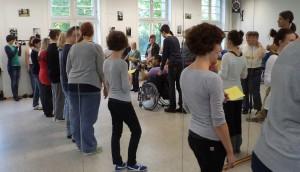 TänzerInnen im Spiegel