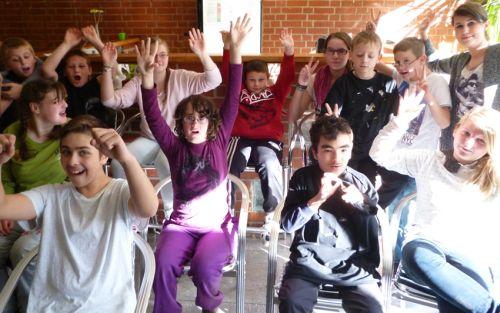 Kinder in der inklusiven OT Ohmstraße