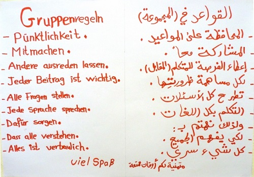 Gruppenregeln MedienFit SprachFit