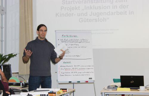 Fortbildungsveranstaltung Projekt Inklusion der Stadt Gütersloh