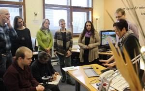 Teilnehmende des Workshops unterstützende Computertechnologien in Bonn