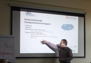 Vortrag zu unterstützenden Technologien von André Naujoks