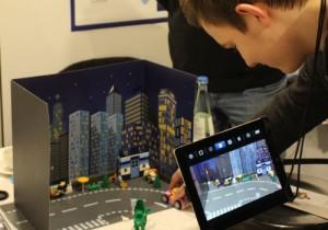 Trickfilm mit iPad und Lego