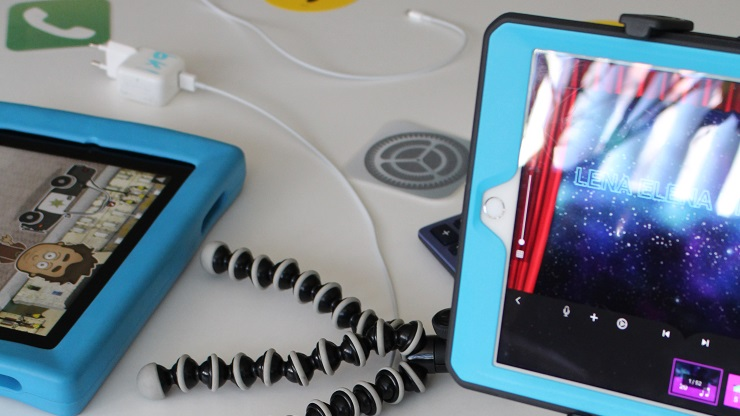Tablets mit Apps und Zubehör