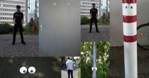 Collage mit Augenfotos