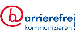 barrierefrei kommunizieren logo