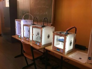3D-Druck Station im Maker-Workshop