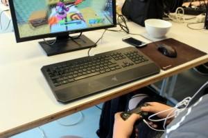 Gamepad als Maus