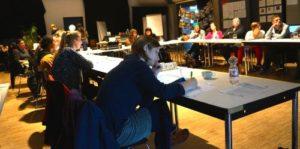 Teilnehmende der Weiterbildung Inklusive Medienarbeit beim Abschlussworkshop