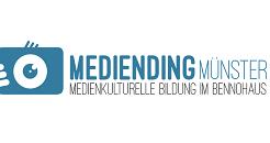 Logo von Mediending Münster, medienkulturelle Bildung im Bennohaus