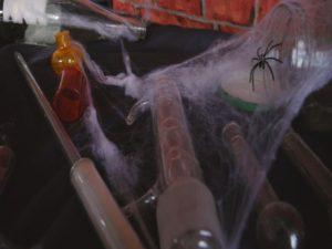 Gruselige Halloween-Deko