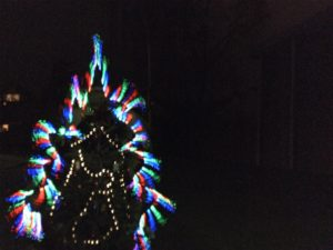 Lightpainting Motiv Weihnachtsbaum