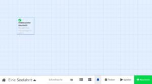 Screenshot Twine-Oberfläche