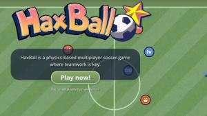 Haxball: Online Fußball spielen