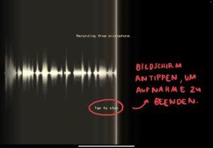 Eigene Audioaufnahme mit PhonoPaper erstellen