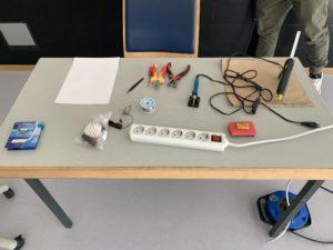 Materialien für Bürstenroboter